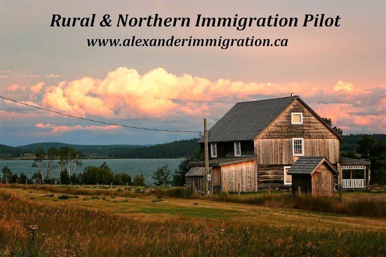 Rural & Northern Immigration Pilot