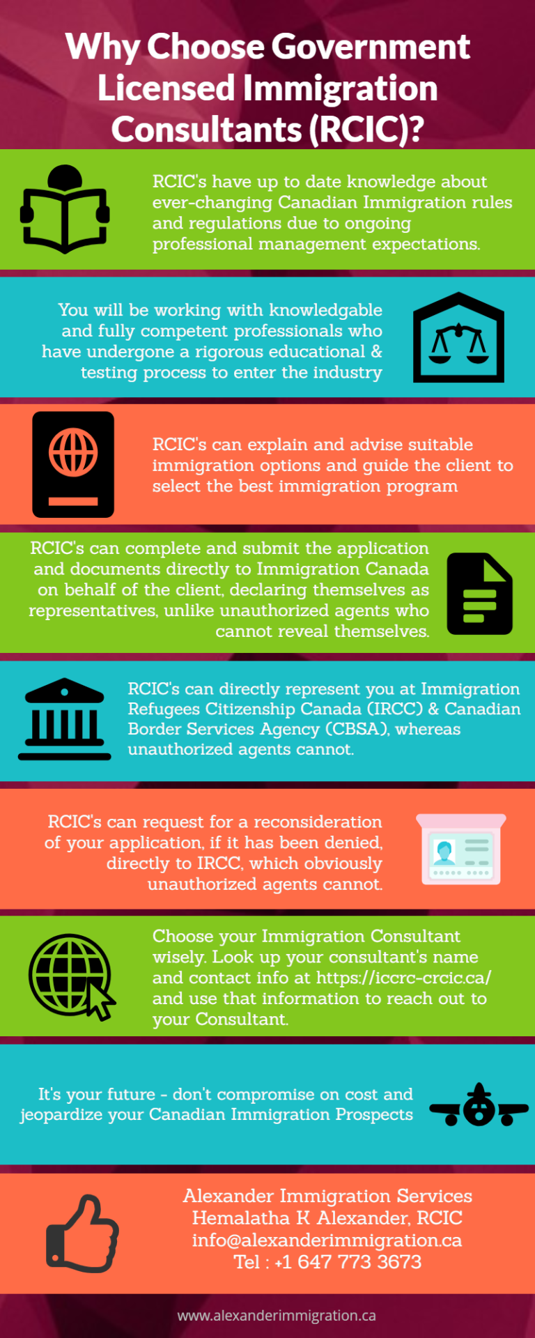 Why Choose Government LicWhy Choose Government Licensed Immigration Consultants (RCIC)?ensed Immigration Consultants (RCIC)?